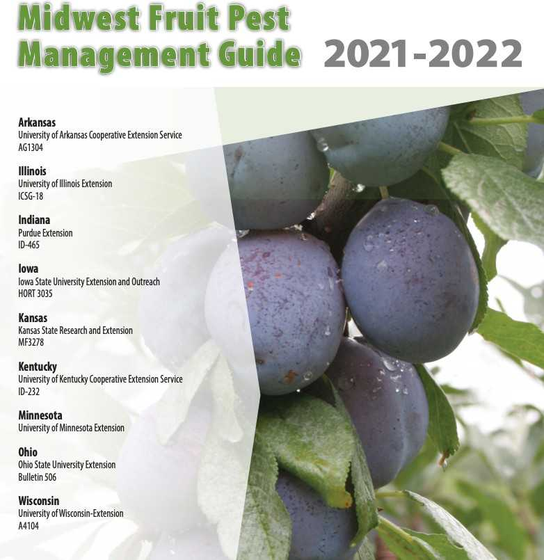 Osu 2022 Calendar.2021 2022 Fruit Pest Management Guide What Is New Buckeye Appellation